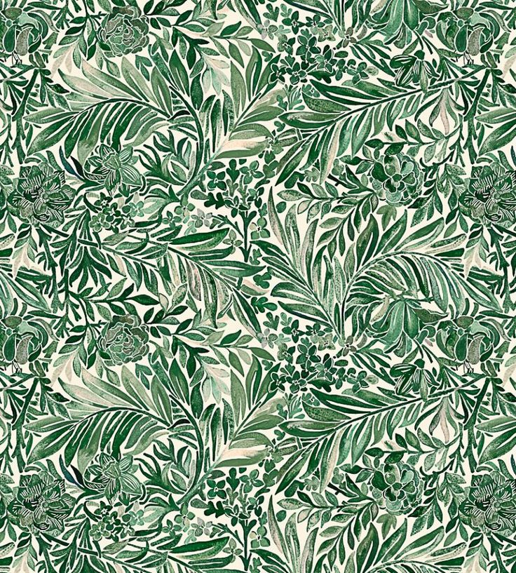 Wallace Secret Garden - Green Gauze fabric | The Secret Garden | Liberty Art