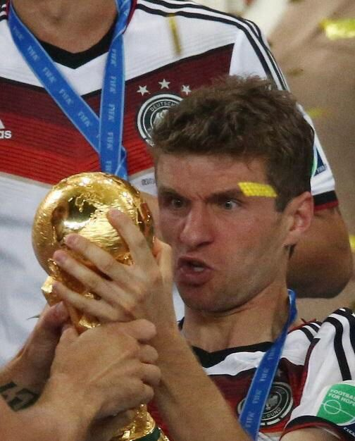 Yes this is Müller...one of a kind; either u love him or you love him