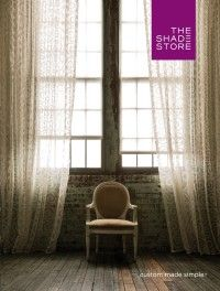 2015 Catalog  Take a look through this online catalog for some ideas on window treatments for master bath and bedroom applications