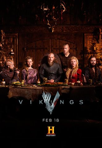 View Vikings - Season 4 (2016) TV Series poster on Ganool