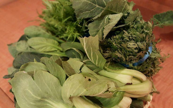 実家の採れたて野菜!