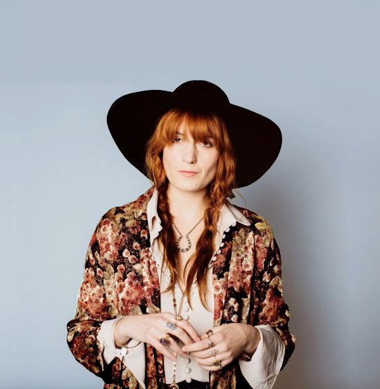 """Realising I do have these two extreme sides in my character. One side is quiet and nurturing and calm, then I have a very self-destructive, chaotic, impulsive side. They contradict each other and I guess the album was a way of trying to make sense of that and bring things back together. — Florence Welch talks about """"How Big, How Blue, How Beautiful"""""""