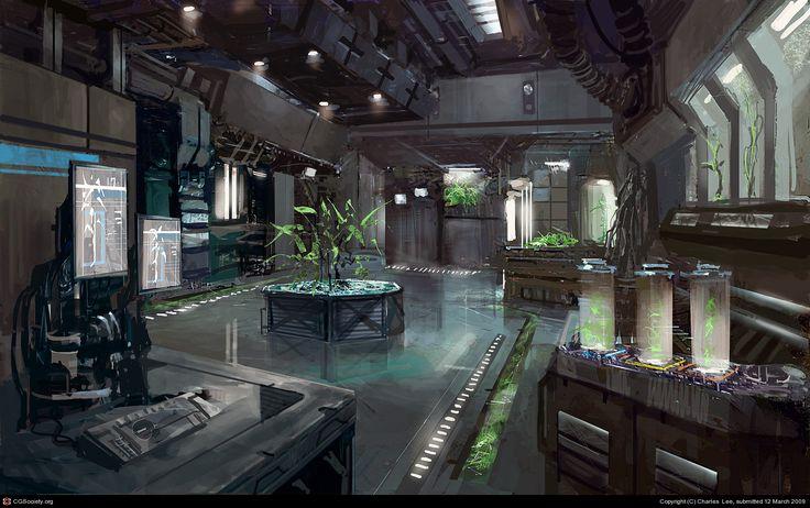 Botanical Lab Facility By Charles Lee 2d Cgsociety