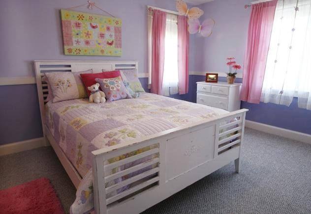 Gut Mädchen, Mädchenzimmer, Schattierungen Von Lila, Schlafzimmer  Dekorieren, Rauminspiration, Einfach