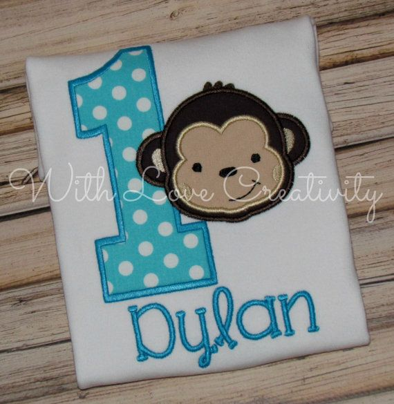 Are you having a Mod Monkey themed party to celebrate that special day? This is the perfect little addition to the fun!!!! This can be made in