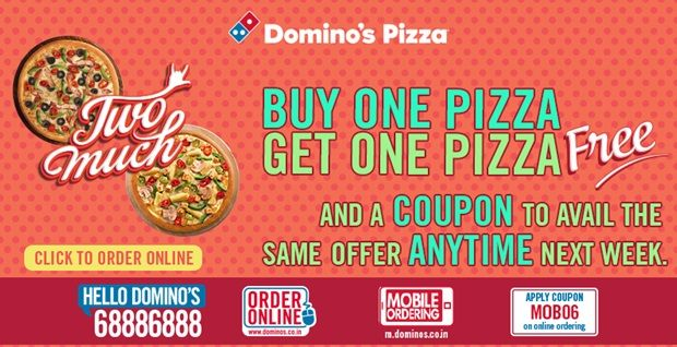 Dominos Coupon Codes for Today