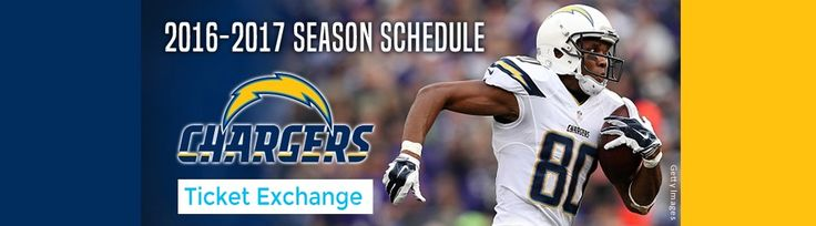 Get San Diego Chargers Season Tickets Includes Tickets to All Regular Season Home Games at Qualcomm Stadium in San Diego, California on Saturday September 17, 2016 on NFL Ticket Exchange. All NFL tickets are VERIFIED and covered under 200% Money Back Guarantee.    #SanDiegoTicketExchange  #NFLTicketExchange  #NFLTickets  #SanDiegoTickets  #SanDiegoChargersSeasonTickets #NFLSeason2016-2017