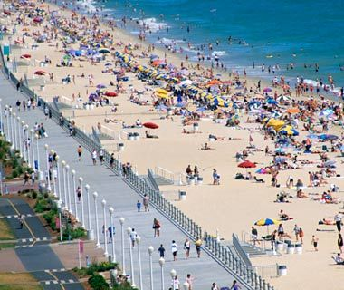 "Travel + Leisure chose the Virginia Beach Boardwalk to be among their picks for ""America's Best Beach Boardwalks."" Have you been? http://www.virginia.org/Listings/OutdoorsAndSports/VirginiaBeachBoardwalk/"