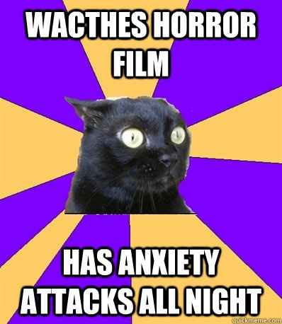 chronic anxiety cat meme - photo #18