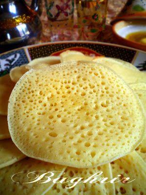 Pourquoi se priver quand c'est bon et léger?: Baghrir ou crêpe à mille trous (0.5 pts ww)