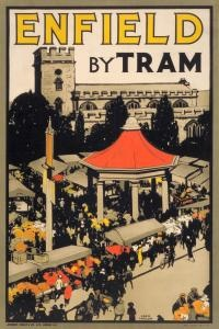 Enfield by Tram 1914