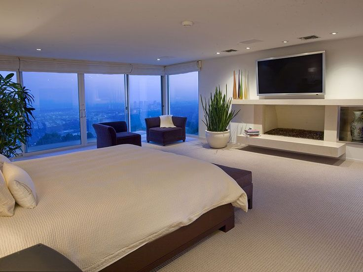 Modern Multi Million Mansion Bedroom