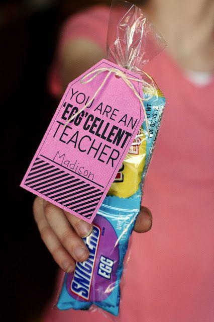 Teacher Gift Ideas    You Are An Egg Cellent Teacher