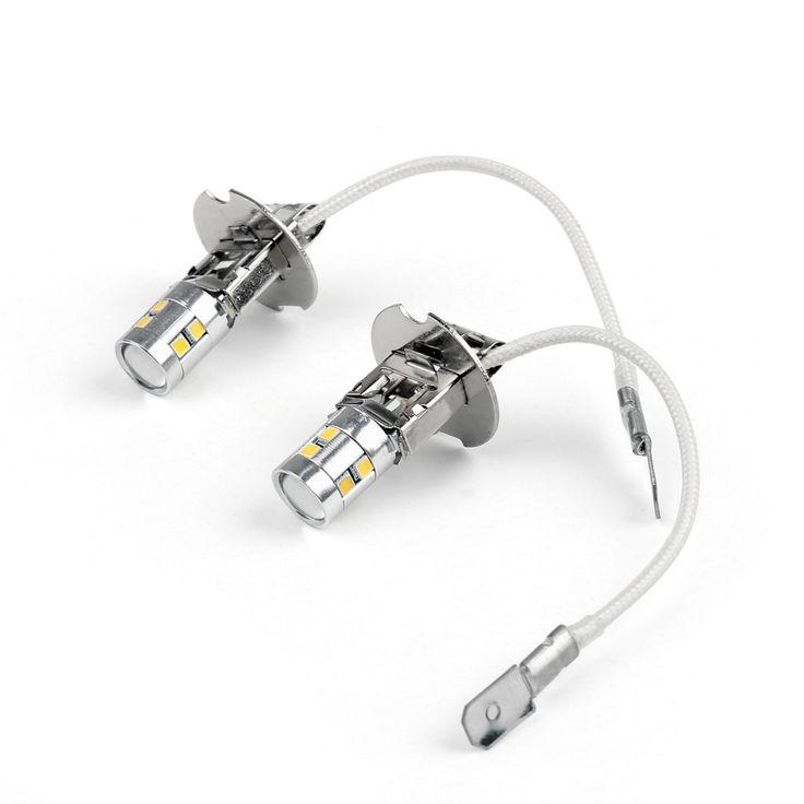 Mad Hornets - H3 5W High Power SMD LED 6000K White for Car Fog Light Headlight Bulb 12V DC, $22.99 (http://www.madhornets.com/h3-5w-high-power-smd-led-6000k-white-for-car-fog-light-headlight-bulb-12v-dc/)