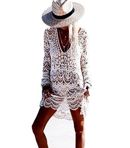 #ASSKDAN #Damen #Boho #Weben #Einzigartig #Bikini #Cover #Up #Sommerkleid #StrandKleid #Lang  #One #Size #(One #Size, #Weiß) ASSKDAN Damen Boho Weben Einzigartig Bikini Cover Up Sommerkleid StrandKleid Lang - One Size (One Size, Weiß), , Damen Boho Weben Einzigartig Bikini Cover Up Sommerkleid StrandKleid Lang, Größe: EU 36-38, Perfekt für den Strand und Pool, zeigen die einzigartigen femininen Charme, ASSKDAN Jeder Kunde ist bereit, die zufriedenstellenden Service zu bieten. Logistik wir in…