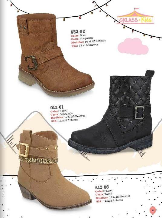 012aa505c  Botas para niñas de moda  Cklass OI-14