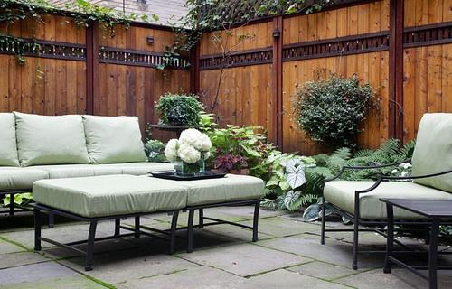 Backyard of a New York City Townhouse - Joseph parisi Interiors LLC