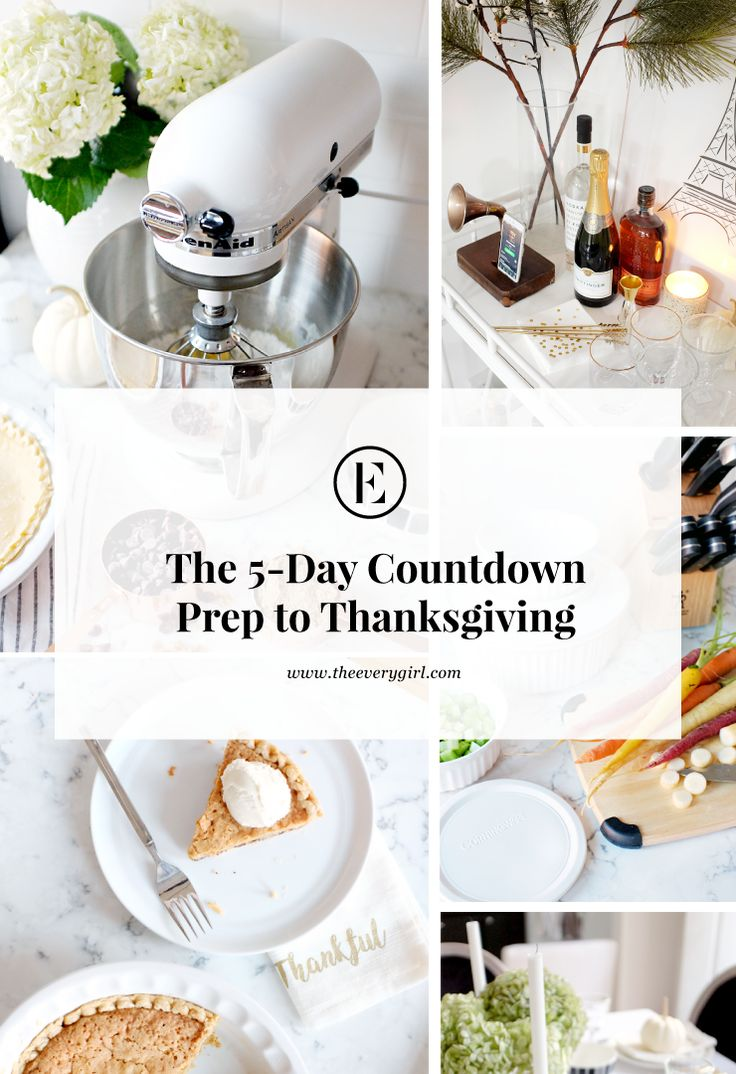 #sponsored The ultimate 5-day countdown guide to preparing for the perfect Thanksgiving dinner #macys #macyslove