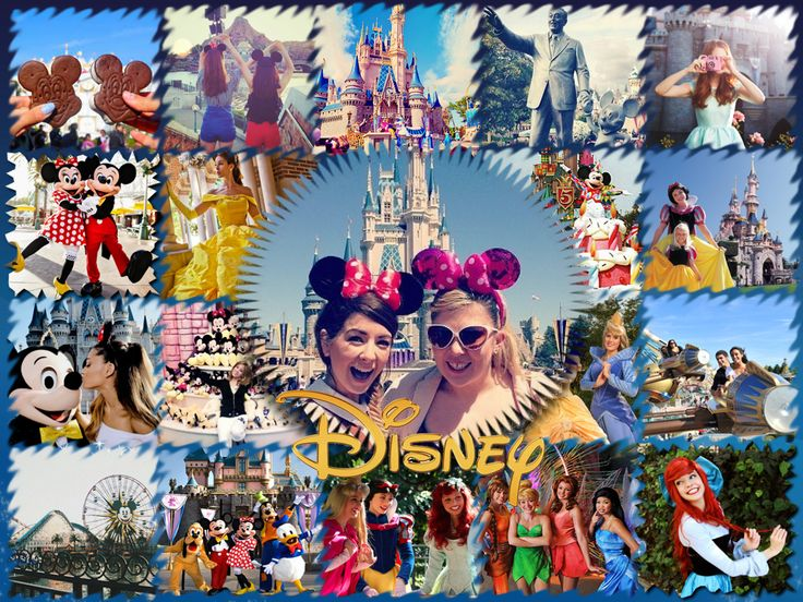 Make A Journey To Disney World With A Magical Jigsaw Collage Made In  Http://ams Collage.com/ And Come Up With Even More Photo Collage Design  Ideas!