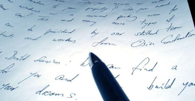 Písmo dokáže veľa prezradiť. Čo hovorí o vás?