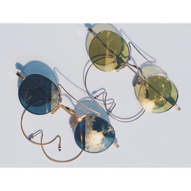 Awesome...@thombrowneny available @beseenoptics #kolonaki #athens #kifisia #thombrowne #sunglasses #beseenoptics #eyewear