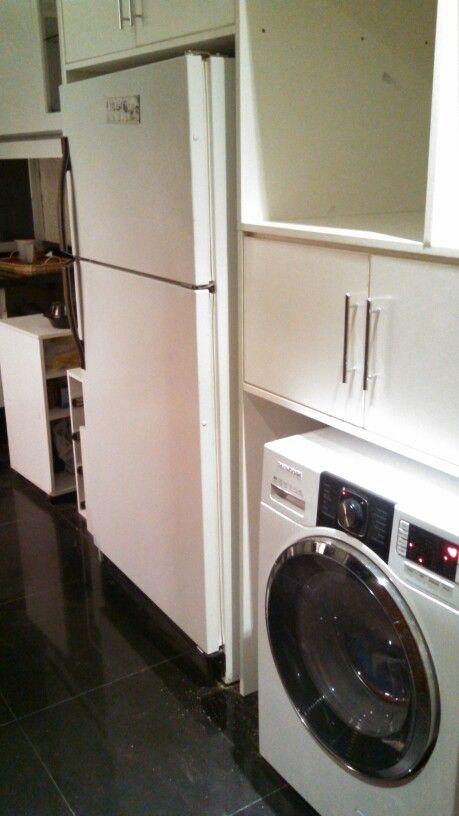 Cocina y lavanderia juntas sugerencias de decoraci n for Heladera y cocina juntas