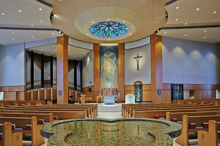 Saint Monica Catholic Church; James Heck, ACLS, Architect