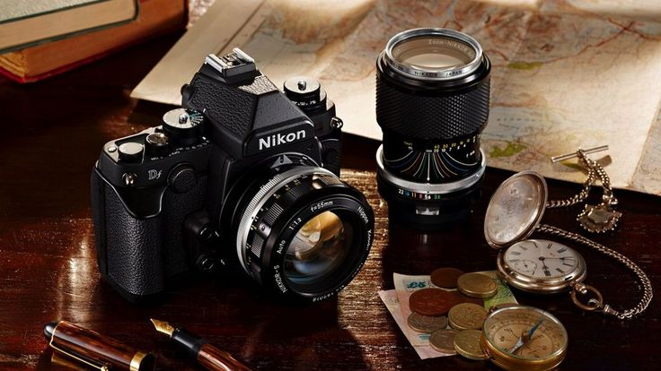 """Nikon's latest camera isn't """"retro,"""" I'm told. It's """"classic."""" Whatever the proper description, the new Nikon Df is an incredibly beautiful DSLR, a full-frame camera in a 1.6-pound body much..."""