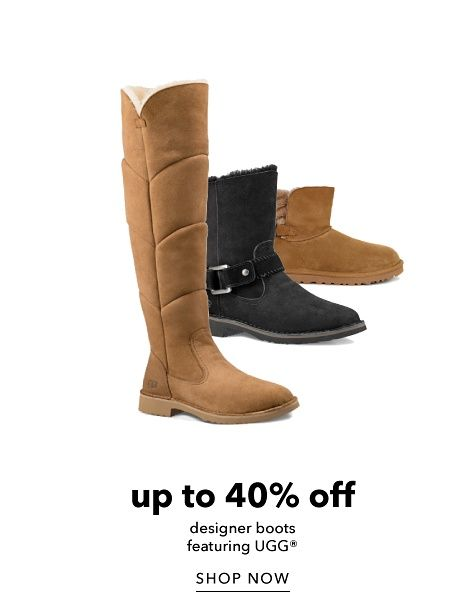 Up to 40% off Designer Boots featuring UGG - Shop Now