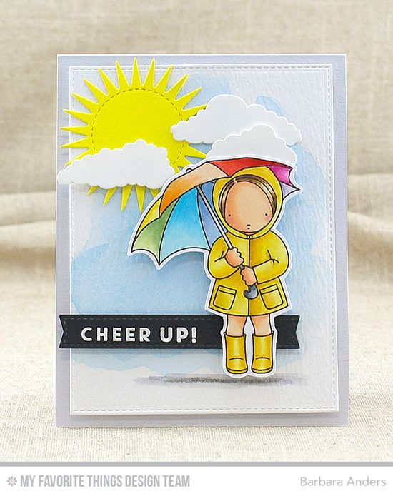 21 best mft sunny thoughts images on pinterest homemade cards cheer up card by barbara anders featuring the blue skies ahead and pure innocence sunny thoughts stamp sets and the blueprints blueprints in the clouds malvernweather Images