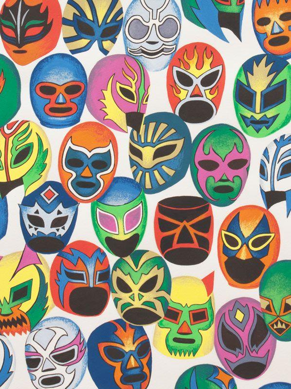 Alexander Henry - Collections Máscaras de Peleá Sheeting Natural #fabric #cotton