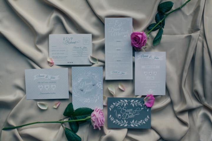 Whimsical Wedding Inspiration With a Twist of Boho. From Ashley Edwards