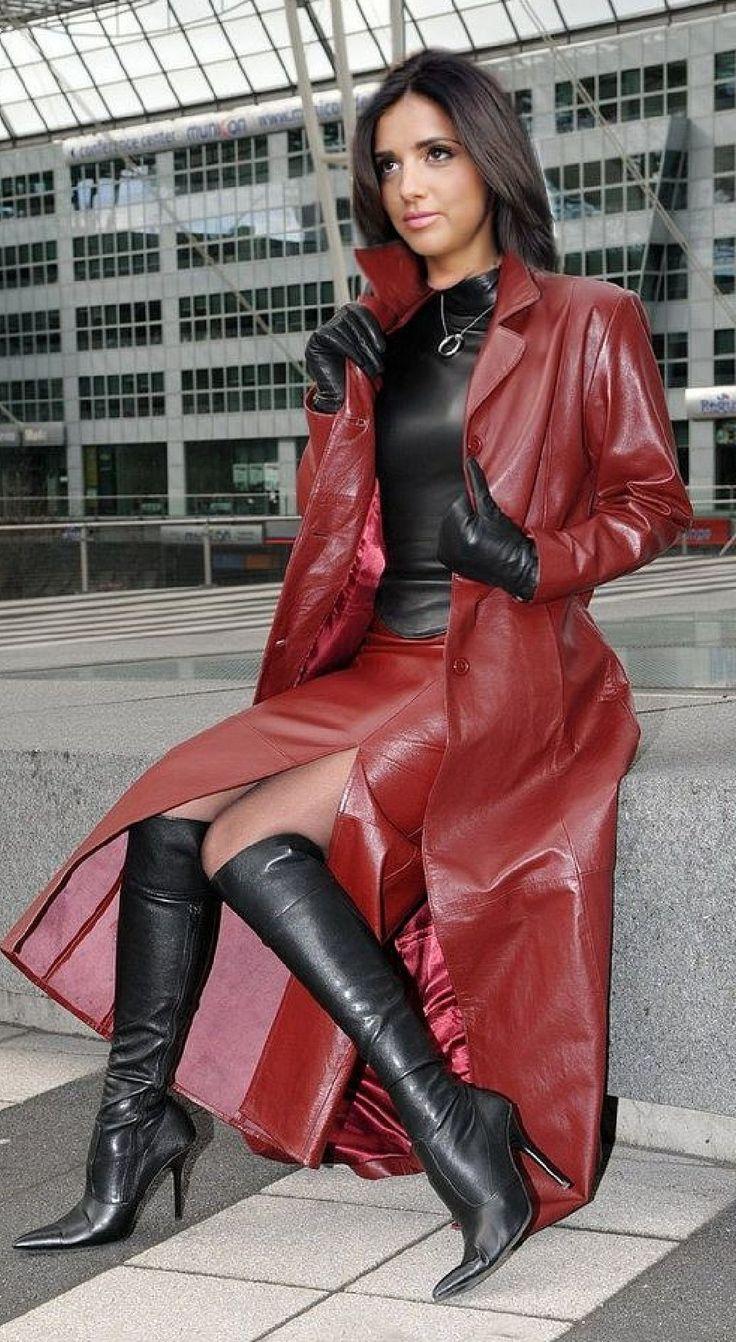 Hot womens faux leather minidress sleepwear intimates women clubwear slash neck sexy lingerie set