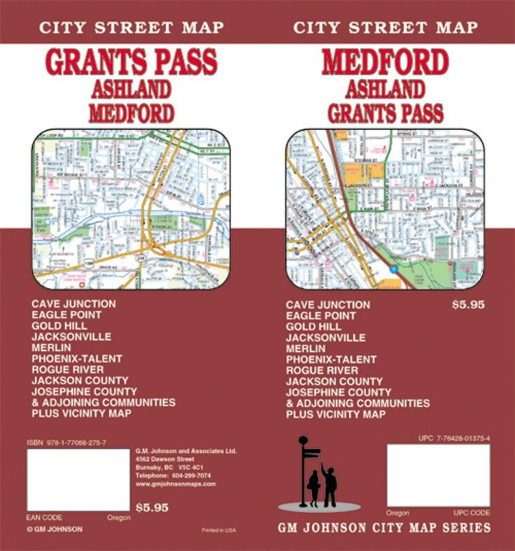 Medford, Ashland and Grants Pass, Oregon by GM Johnson