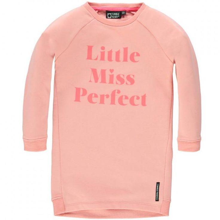 Tumble `N Dry winter 2015 verkrijgbaar maat 92 t.m. 176 #vipkidz #tumblendry #kids #totlaatbestellen #volgendedaginhuis #bezorgen #kindermode #kinderkleding model Emmea Girls Mid DR - Mini candlelight peach