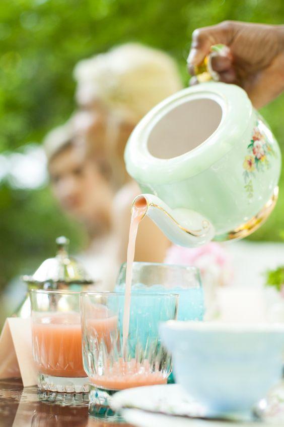 Vintage English #Tea Cup - fine vintage china rentals