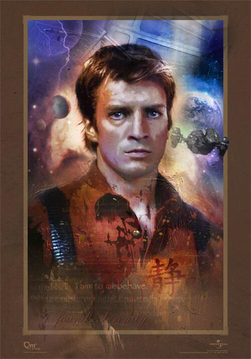 """Malcolm """"Mal"""" Reynolds: During the war of independence, he enlisted on the independent side, fighting as a sergeant in the 57th Overlanders. He was part of the """"Browncoat"""" force holding Serenity Valley, before the Alliance overwhelmed them. After the war, Mal purchased a battered old Firefly-class ship, which he named Serenity, & took jobs as they came. He is a born leader & is fanatically dedicated to his crew.  However his plans often tend to go a bit wonky. Still, he inspires fierce…"""