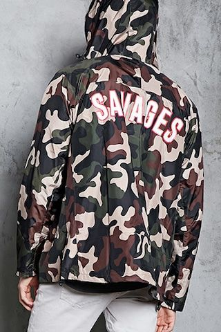 Savages Graphic Windbreaker