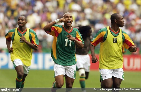 El Hadji Diouf's mad ramblings continue as he claims his 2002 World Cup performances equal Diego Maradona's achievements with Argentina