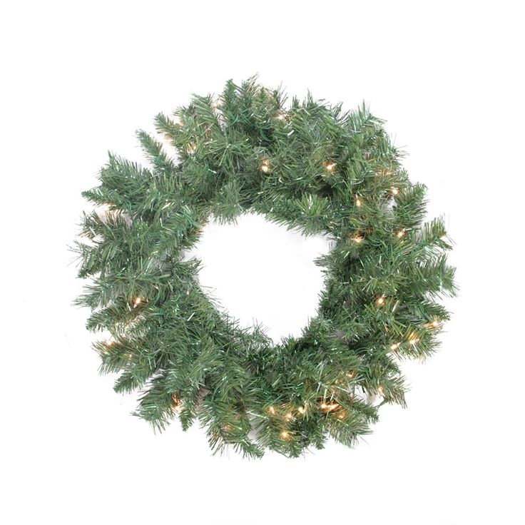 14' Pre-Lit Washington Frasier Fir Slim Artificial Christmas Tree Clear Lights