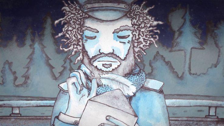 Vimeo video by Sashko Danylenko. #story #lovestory #love #swan #mood #romantic #blue #yellow #cartoon #animation #tale #futher #watercolor #personage #2D #cutout