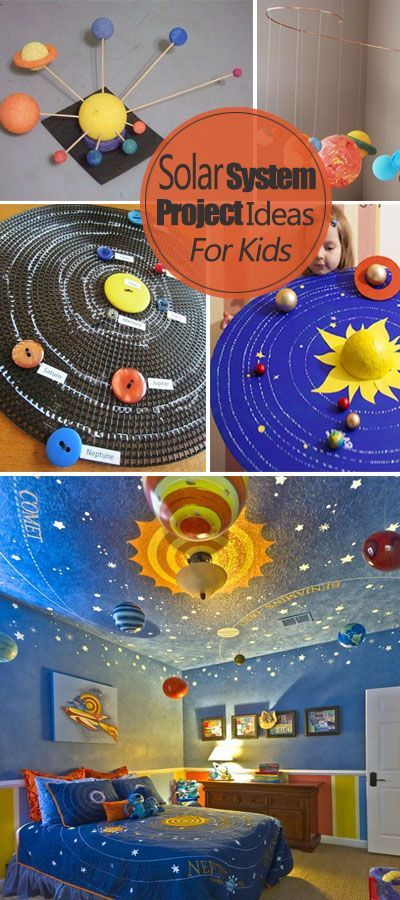 These solar system projects are so fun and educational for kids who are interested in the planets!