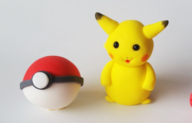 POKEMON - edible figures cake toppers decoration by jncakes