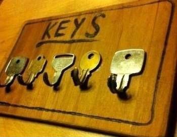 Créer des porte-clés avec de la récupération!