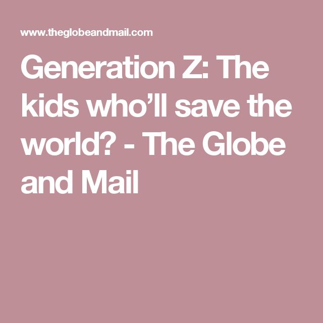 My Generation's Biggest Challenge