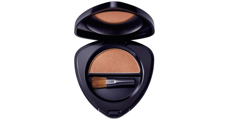 This beautiful golden-brown mineral eyeshadow will add a touch of sophisticated drama to your look.