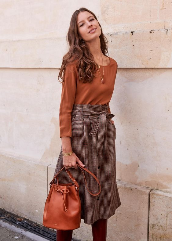 22 Midi Skirts You Can Wear Straight Through Fall ...