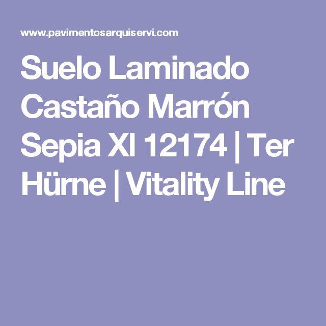 Suelo Laminado Castaño Marrón Sepia Xl 12174 | Ter Hürne | Vitality Line