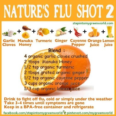 Another Natural Flu/Cold Drink