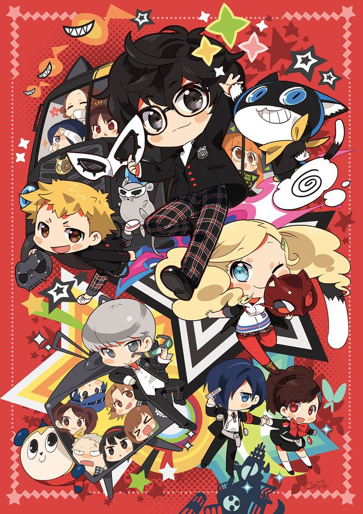 Persona 5 already has quite the fan art following, cultivated since release in Japan - NeoGAF